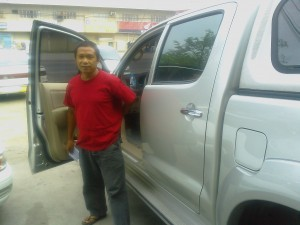 Julius, Save the Children driver in Mindanao