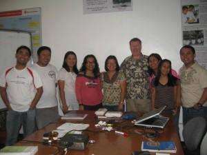 Save the Children PDA Team at Koronadal office, Mindanao