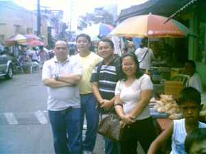 The 2007 PDA Team - Donald, Danny, Ramil and Annie