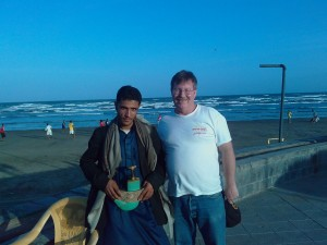 A New friend at the Beach At Aden, Yemen on My Last Day