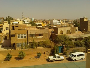 Khartoum, Sudan From the Save the Children Office Rooftop