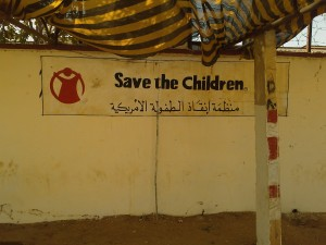 Save the Children USA Compound in El Geneina, West Darfur, Sudan