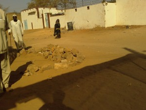 Street in El Geneina, West Darfur